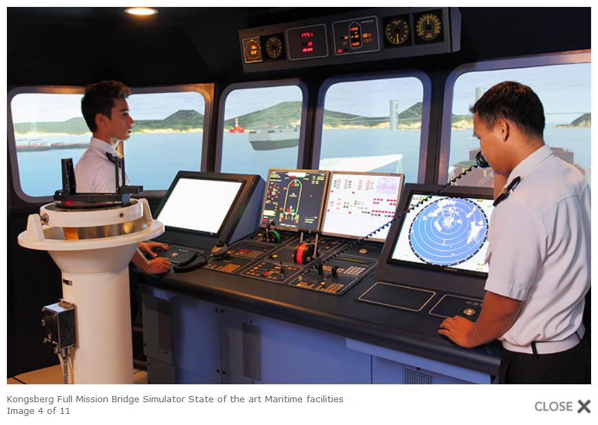 Bridge Simulators & the Philippine Navy